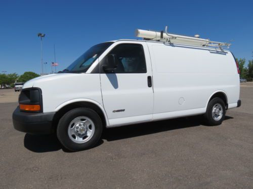 power lift chair repair cool dorm chairs buy used 2003 chevrolet express 2500 cargo van 7kw generator compressor low mileage 6.0v8 in ...