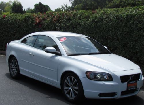Buy Used 08 Volvo C70 T5 Convertible Navigation Power