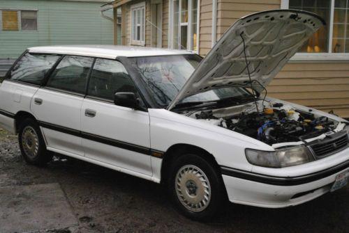 1992 Subaru Legacy Wagon Power Windows Power Door Locks