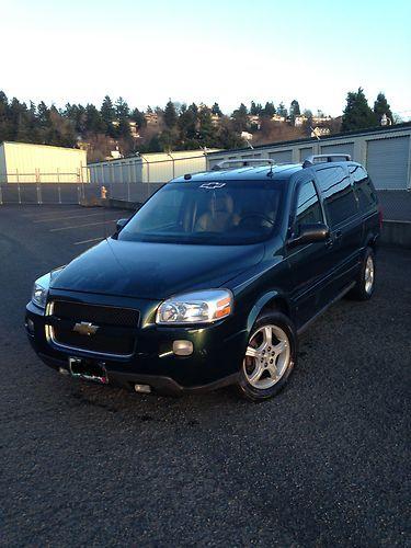 Find Used Chevrolet Uplander Lt Mini Passenger Van 4