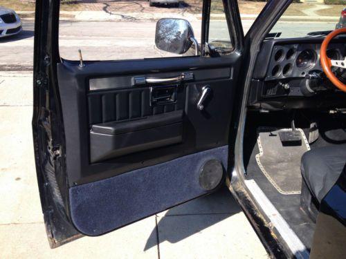 Find used 1987 Chevy K5 Blazer in Morton Grove Illinois