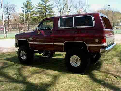 Purchase Used 1986 CHEVROLET K5 BLAZER In Louisville