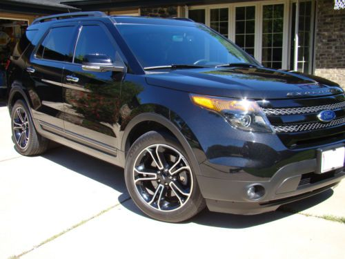 2013 ford explorer captains chairs couch armchair covers buy used sport ecoboost navigation dvd players 4wd us 41 999 00