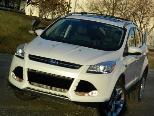Buy Used 2013 Ford Escape Titanium Sync Navi Panoramic