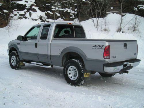 2002 Ford F250 Super Duty 73 Power Stroke Diesel V8 Pickup Truck