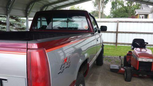 Sell Used 1989 Chevrolet K2500 Silverado 5 7l Completely Rebuilt In Mount Morris Michigan
