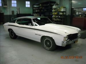 Buy used 1971 CHEVELLE HEAVY CHEVY BIG BLOCK in Staten