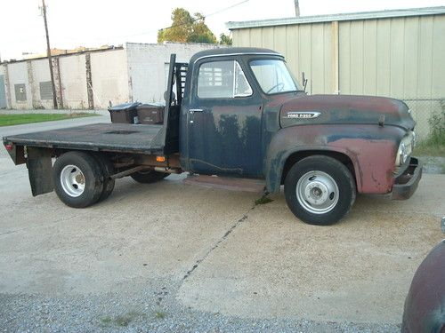 Ford Truck Distributor Wiring Buy Used 1953 Ford F350 Hot Rod Rat Rod Project 460