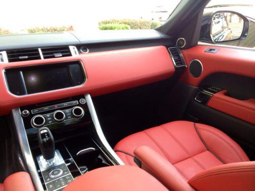 Buy Used 2014 Range Rover Sport V8 SC Dynamic Santorini