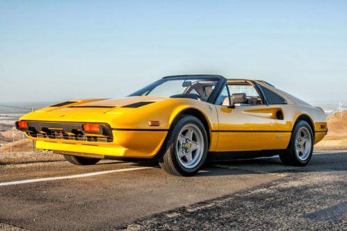 Find used 1983 Ferrari 308 GTS Quattrovalvole Coupe 2Door