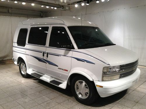 which suvs have captains chairs wedding chair covers orlando fl sell used 98 chevy astro conversion van high top side steps needs a motor in ...