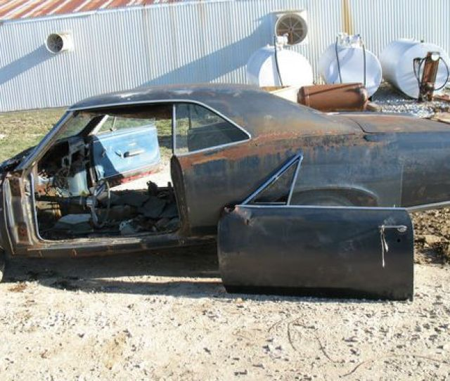 1966 66 Pontiac Gto Body For Parts With Title