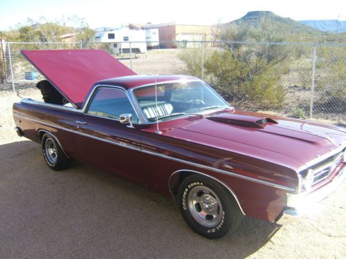 Sell used RANCHERO Restored  Super Clean SHELBY WHEELS  LOW MILES 302 ps pb LOW RESERVE in