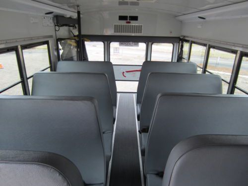 wheelchair lift for truck patio chair strap repair kit sell used collins grand bantam 18-passenger school bus only 76k miles! lift! in ...