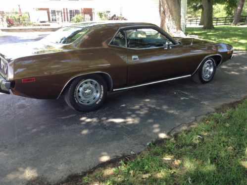 Sell used 1973 Plymouth Cuda Base 52L in Fowlerville