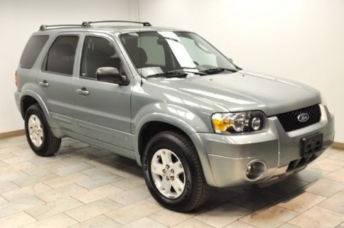 Buy used 2006 FORD ESCAPE LIMITED 4X4 V6 LEATHER SUNROOF ...