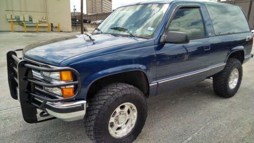 Buy used 1994 Chevrolet Blazer 4x4 2 door Full Size
