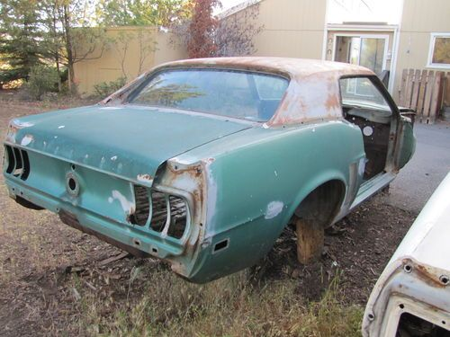 Purchase Used 1969 Mustang Grande Coupe M Code 4spd Silver