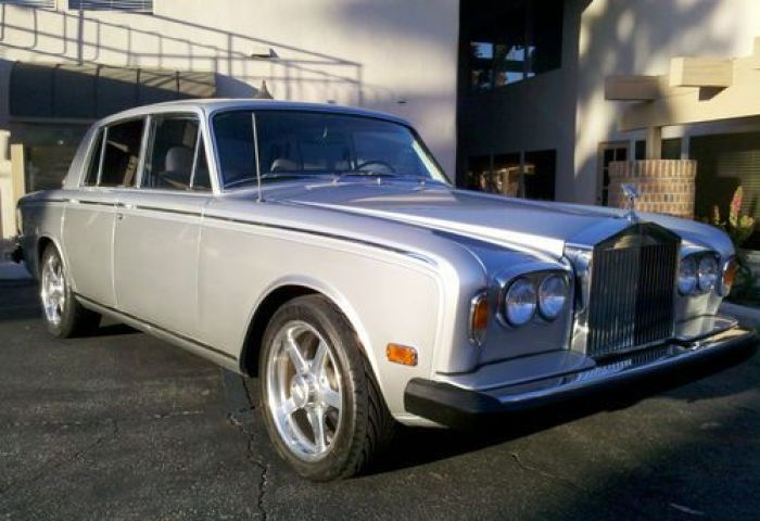 Purchase Used 1973 Rolls Royce Silver Shadow Custom In Palm Desert