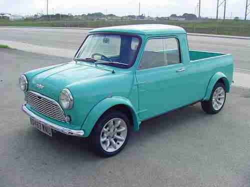 Purchase New MINI COOPER PICK UP 1983 AUSTIN MORRIS In