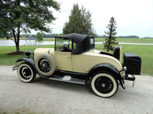 Purchase used 1929 Ford Model A Roadster Super Deluxe Shay