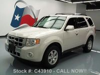 Buy used 2010 FORD ESCAPE LIMITED HTD LEATHER ROOF RACK 18 ...
