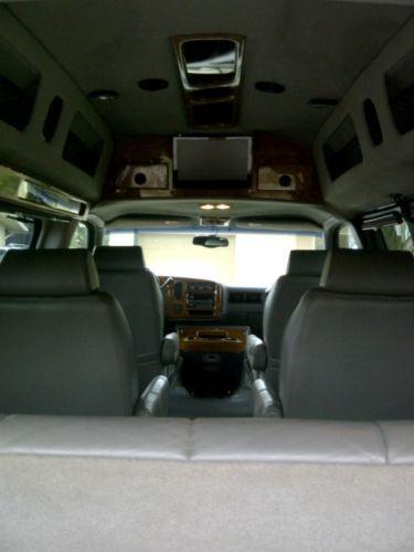 Buy used 2002 Chevy Express Choo Choo Customs Conversion