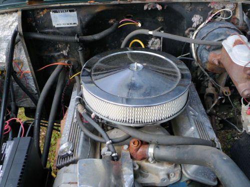 1968 Toyota Land Cruiser Fj40 4 Wheel Disc Power Steering Original