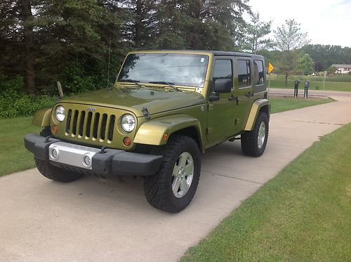 Find used 2008 Jeep Wrangler Unlimited Sahara 4Door 38L