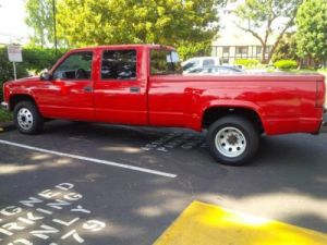 Find used 97 Chevrolet C3500 Dually 1 Ton Crew Cab Pick Up Truck 2wd in Tustin, California