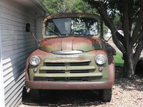 Find Used 1949 Dodge 1 5 Ton Truck Dump Flat Bed Grain