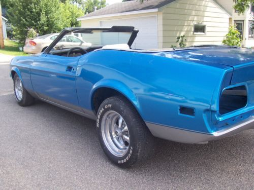 Sell Used 1972 Ford Mustang Convertible Project Mach 1