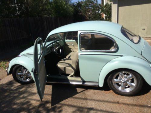 Sell used 1966 bahama blue volkswagen bug sedan in Costa