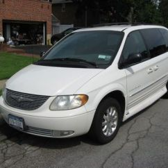 Wheel Chair Ramp Rocking Cushions Buy Used 2001 Chrysler Acc. Town And Country Van In Old Bethpage, New York, United ...