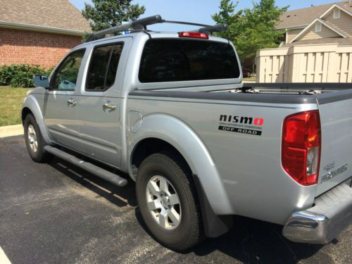 Find Used 2007 Nissan Frontier Nismo Crew Cab 4x4 Silver