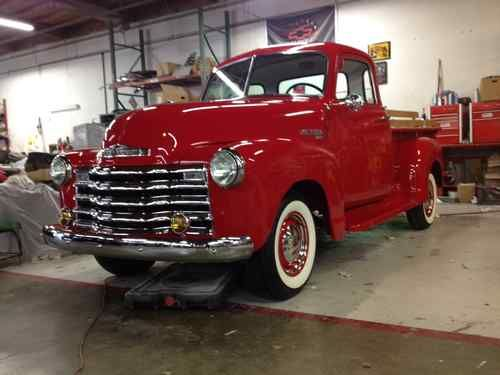 1951 Chevy 3100 5 Window Pick Up