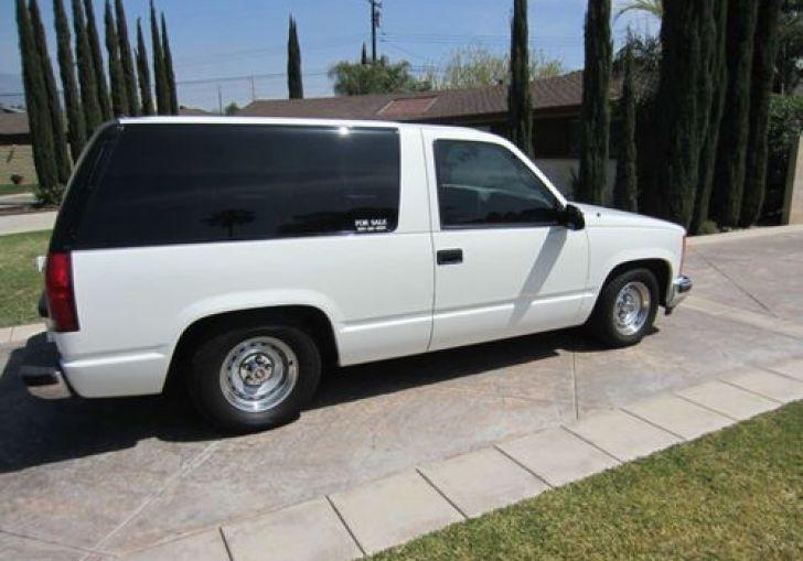 2 Door 2 Wheel Drive Tahoe For Sale