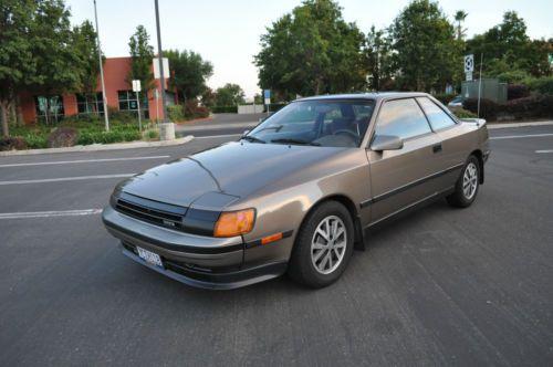 Sell used 1987 Toyota Celica GTS All Original 80k Original