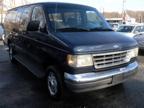 wheelchair van parts directors chair covers habitat purchase used 1995 ford e-series club wagon xlt super, 15 passenger in aberdeen ...
