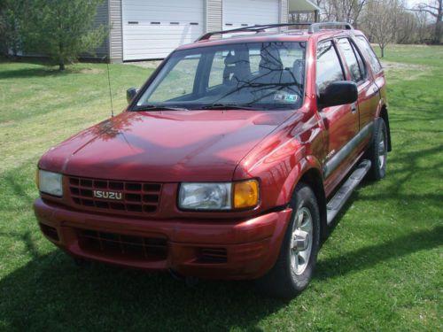 Purchase Used 1999 Isuzu Rodeo Ls V6 Auto 4x4 74k Original