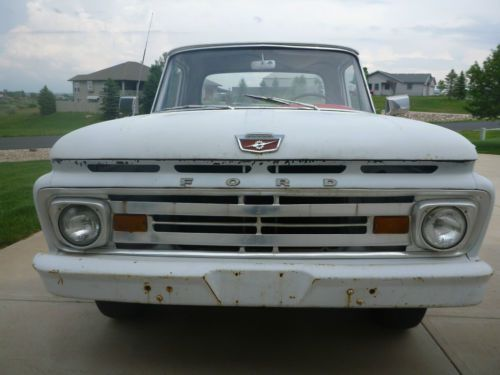 Purchase Used 1963 Ford F 100 Unibody Custom Cab Pickup