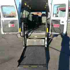 Vehicle Lifts For Power Wheelchairs Bailey Chair Building Instructions Sell Used 2003 Ford Handicap Van Wheelchair Lift Mobility Ems Cargo Motorcycle Hauler In ...