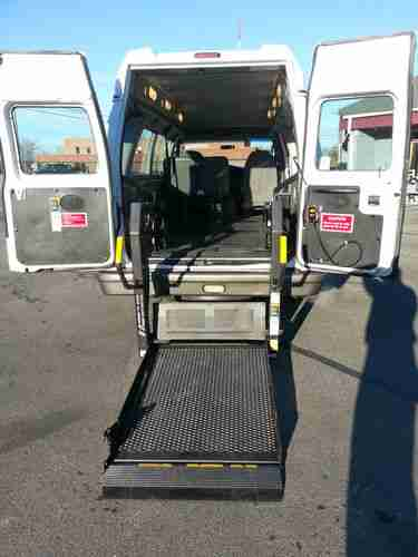 wheelchair hauler swivel chair with legs sell used 2003 ford handicap van lift mobility ems cargo image motorcycle us 9 999 00