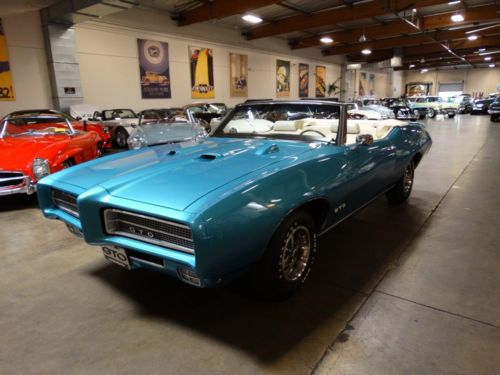 Purchase Used 1969 Pontiac Gto Convertible California Car