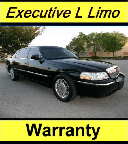 Purchase Used 2011 Lincoln Town Car Executive L Sedan Limo