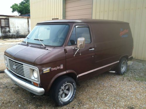Buy Used Custom Chevrolet G20 Van Short Wheel Base In