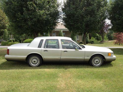 Lincoln Town Car Cartier Edition