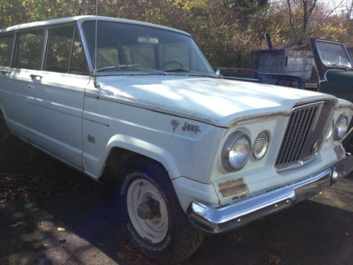 Find Used 1964 Jeep Wagoneer 4x4 6cyl 3sp Ps Very