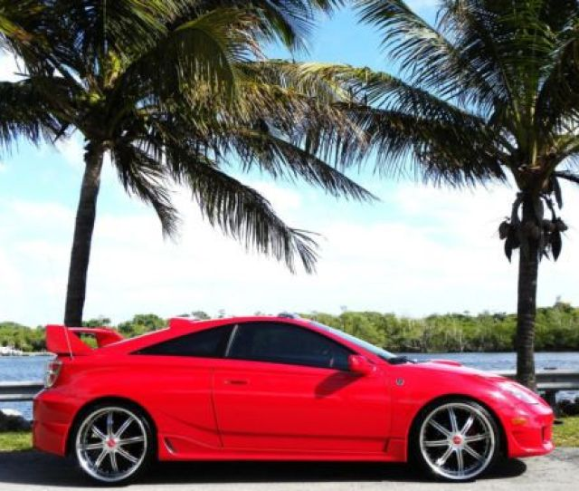 2005 Toyota Celica Gt Custom Added Features Real Head Turner Us 8000 00