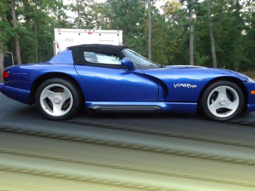 Purchase Used Dodge Viper Classic Convertible Show Winner